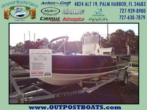 2015 Key Largo 196 CC for sale in Holiday, FL