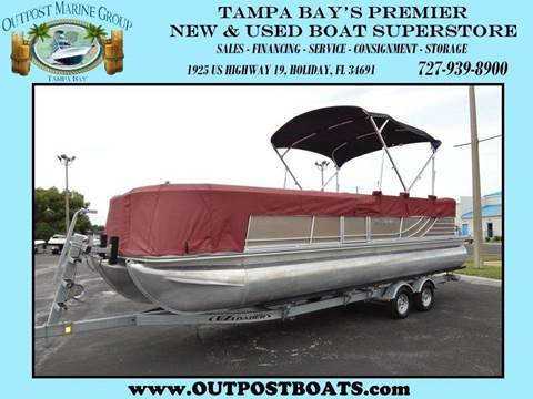 2013 South Bay 524RB Tri-Toon for sale in Holiday FL