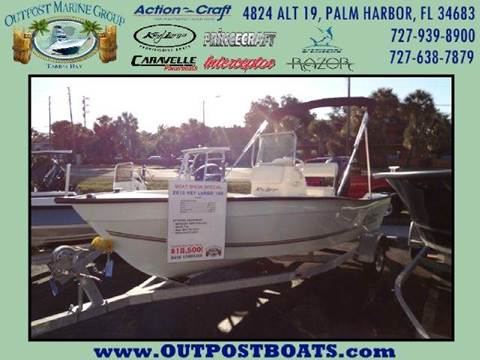 2015 Key Largo 160 CC for sale in Holiday FL