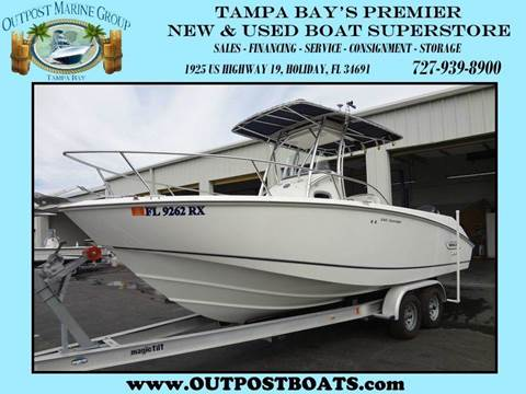 2004 Boston Whaler 240 Outrage for sale in Holiday, FL