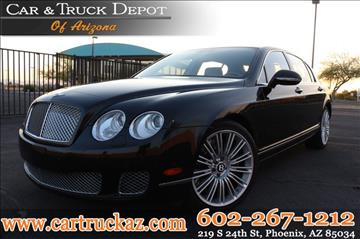2012 Bentley Continental Flying Spur Speed for sale in Phoenix, AZ