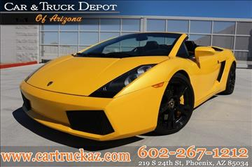 2008 Lamborghini Gallardo for sale in Phoenix, AZ