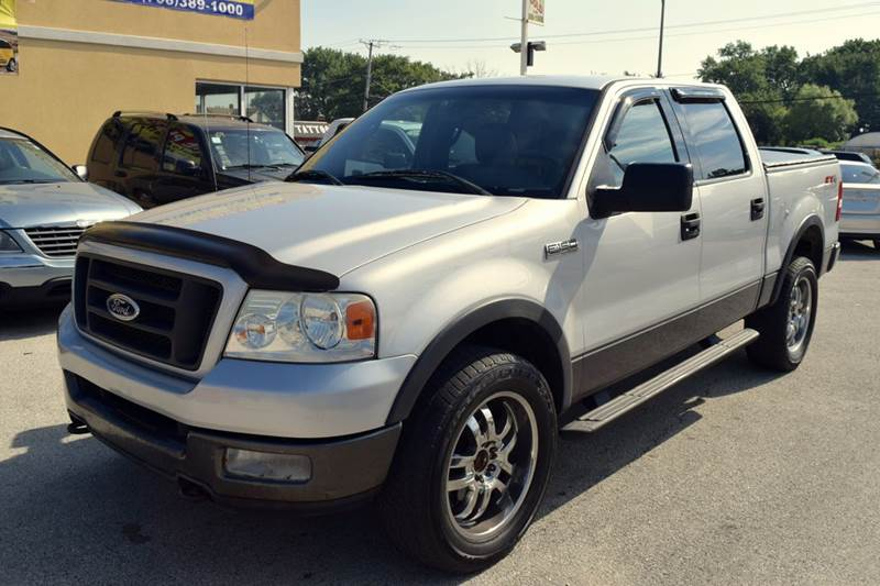 2004 Ford F-150 4dr SuperCrew FX4 4WD Styleside 5.5 ft. SB - Crestwood IL