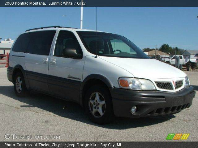2003 Pontiac Montana Base Fwd 4dr Ext Minivan - Crestwood IL