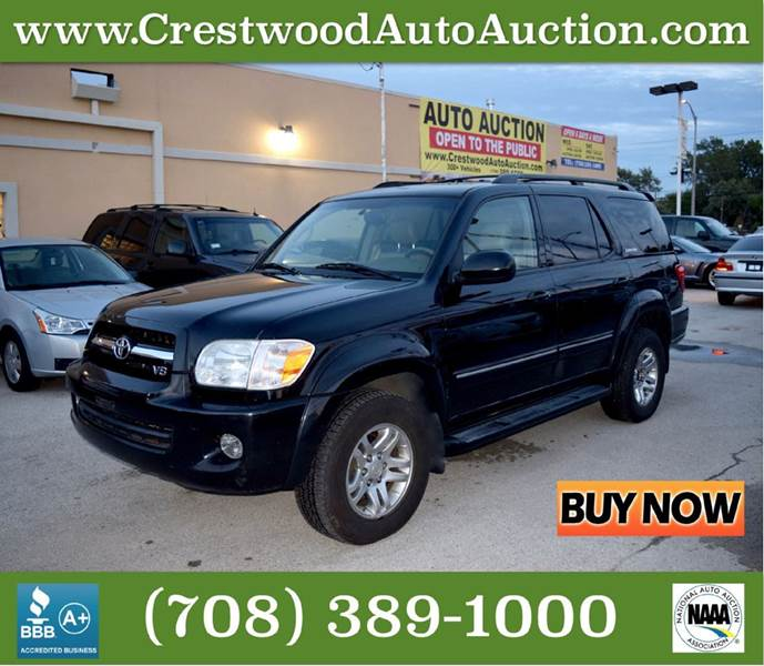 2005 Toyota Sequoia Limited 4WD 4dr SUV - Crestwood IL