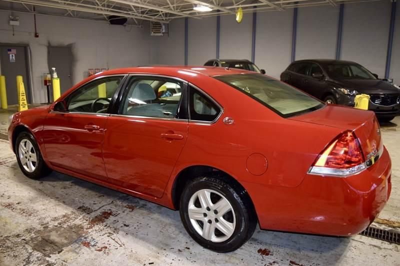 2008 Chevrolet Impala LS 4dr Sedan w/ roof rail curtain delete - Crestwood IL