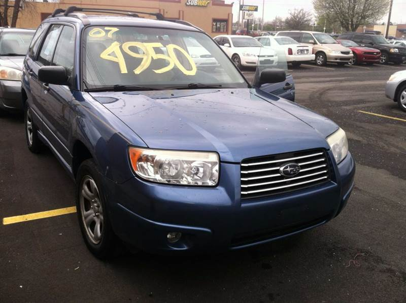 2007 Subaru Forester 2.5 X AWD 4dr Wagon (2.5L F4 4A) - Indianapolis IN
