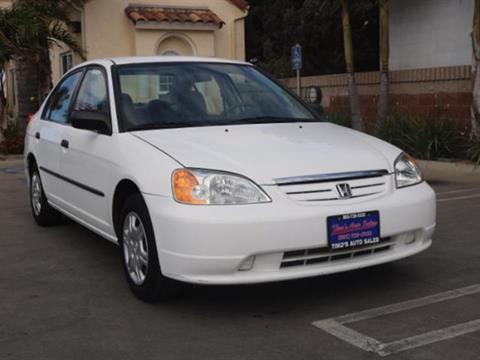 2002 Honda Civic for sale in Santa Maria, CA