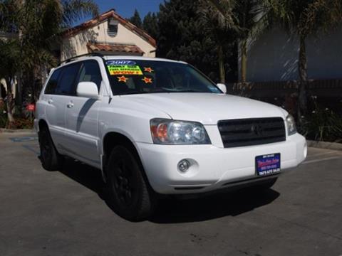 2007 Toyota Highlander for sale in Santa Maria, CA