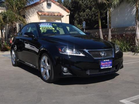 2011 Lexus IS 250 for sale in Santa Maria CA