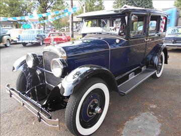 1928 Nash 340 Special Six (4) door
