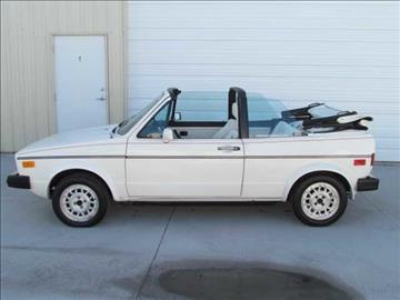 1987 Volkswagen Cabriolet for sale in Midvale, UT
