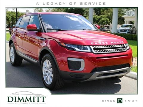 2017 Land Rover Range Rover Evoque for sale in Clearwater, FL