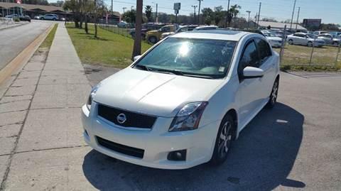 2012 Nissan Sentra for sale in Zephyrhills, FL