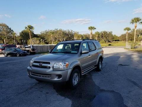 2006 Toyota Sequoia for sale in Zephyrhills, FL
