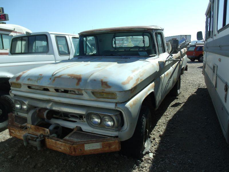 1963 Gmc C/K 1500 Series FLEETSIDE In Quartzsite AZ - Collector Car ...