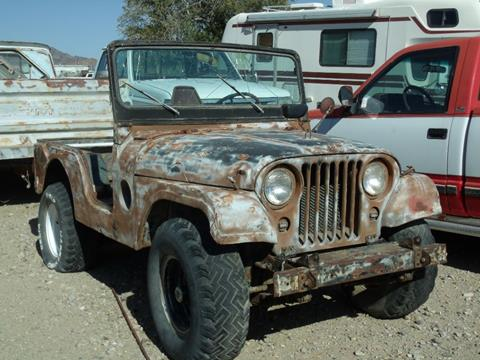 1955 Willys MILITARY for sale in Quartzsite, AZ