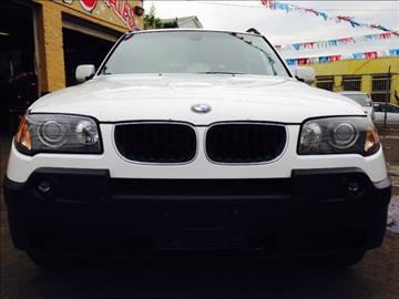 2004 BMW X3 for sale in Irvington, NJ