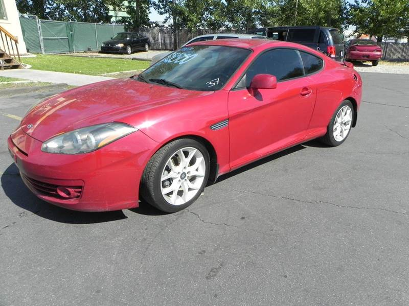 2007 hyundai tiburon for sale in west valley city ut. Black Bedroom Furniture Sets. Home Design Ideas