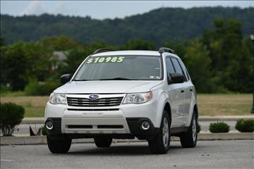 2010 subaru forester for sale pennsylvania. Black Bedroom Furniture Sets. Home Design Ideas