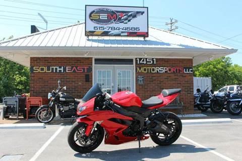 2010 Kawasaki ZX600RAF