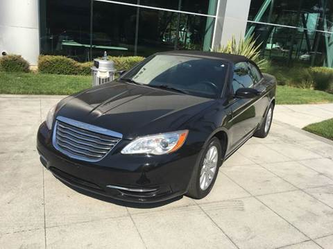 2012 Chrysler 200 Convertible for sale in San Jose, CA