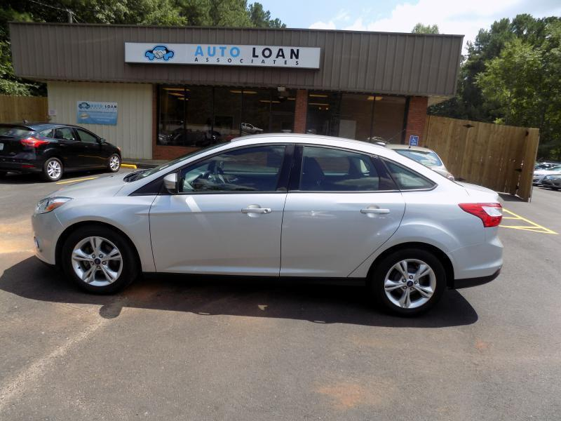 2013 FORD FOCUS SE 4DR SEDAN silver air conditioning power windows power locks power steering