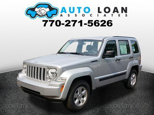 2012 JEEP LIBERTY SPORT 4X2 4DR SUV silver air conditioning power windows power locks power st