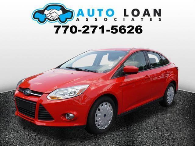 2012 FORD FOCUS SE 4DR SEDAN red stability control electronicwindows rear defoggersuspension