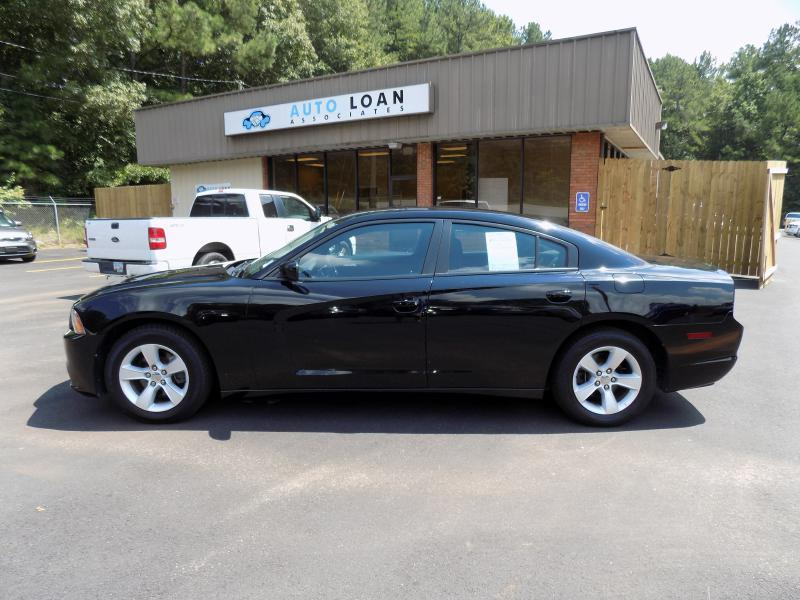 2013 DODGE CHARGER SE 4DR SEDAN black air conditioning power windows power locks power steering