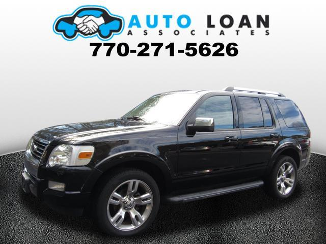 2010 FORD EXPLORER LIMITED AWD 4DR SUV black air conditioning power windows power locks power