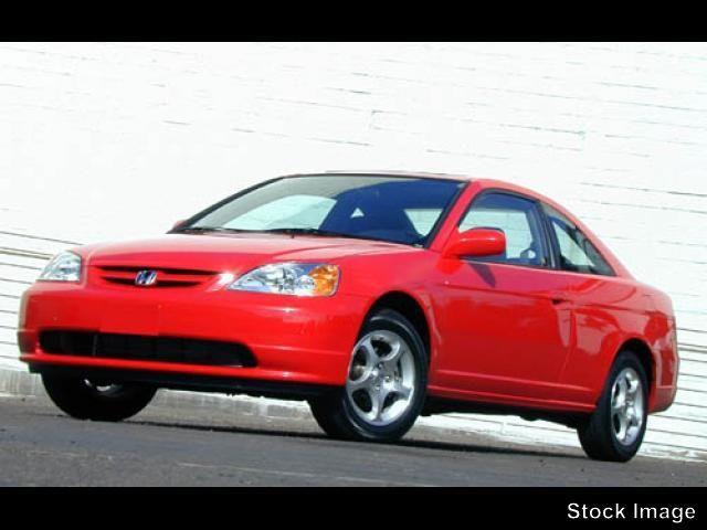 2002 HONDA CIVIC EX 2DR COUPE unspecified abs brakes 4-wheelair conditioning - frontairbags -
