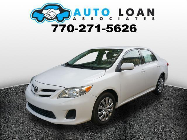 2012 TOYOTA COROLLA LE 4DR SEDAN 4A white phone wireless data link bluetoothstability controlh
