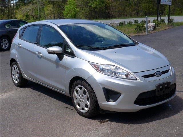 2013 FORD FIESTA SE 4DR HATCHBACK silver stability control electronicphone voice activatedmul