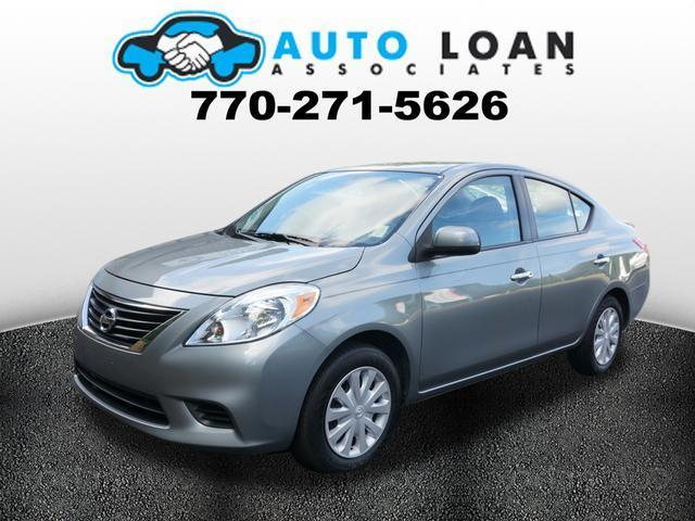 2013 NISSAN VERSA 16 S 4DR SEDAN 4A dk gray crumple zones front and rearstability control el