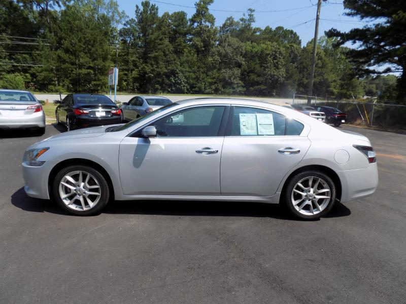 2013 NISSAN MAXIMA S silver dual front airbags side airbags head airbags rear head airbags ac