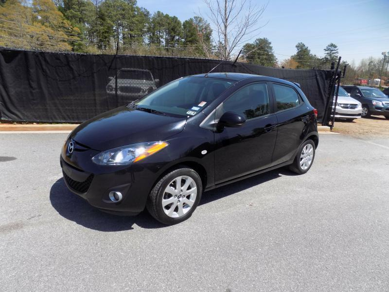 2013 MAZDA MAZDA2 TOURING 4DR HATCHBACK 4A black air conditioning power windows power locks pow