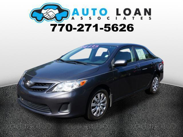 2012 TOYOTA COROLLA LE 4DR SEDAN 4A gray phone wireless data link bluetoothstability controlha