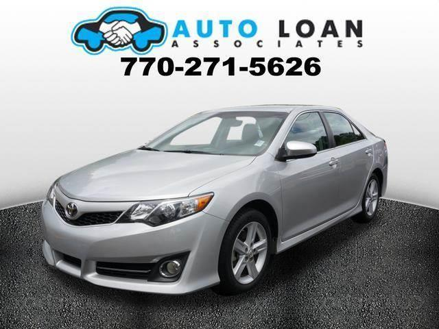 2013 TOYOTA CAMRY SE 4DR SEDAN silver phone wireless data link bluetoothmulti-function display
