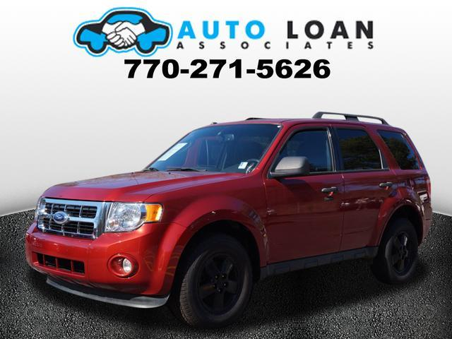 2012 FORD ESCAPE XLT 4DR SUV red air conditioning power windows power locks power steering ti