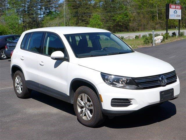 2013 VOLKSWAGEN TIGUAN white impact sensor post-collision safety systemroll stability controli