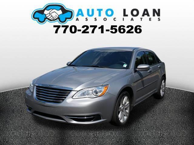 2013 CHRYSLER 200 TOURING 4DR SEDAN silver air conditioning power windows power locks power ste