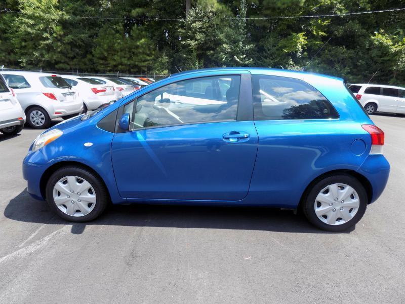 2011 TOYOTA YARIS BASE 2DR HATCHBACK 4A blue air conditioning power windows power locks power