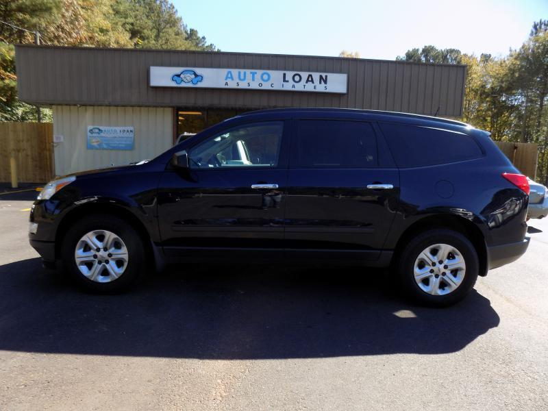 2012 CHEVROLET TRAVERSE LS 4DR SUV blue air conditioning power windows power locks power steer