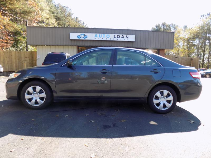 2010 TOYOTA CAMRY BASE 4DR SEDAN 6A grey air conditioning power windows power locks power stee