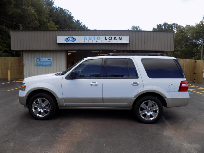 2009 FORD EXPEDITION EDDIE BAUER 4X2 4DR SUV white super loaded very clean clean carfax with se