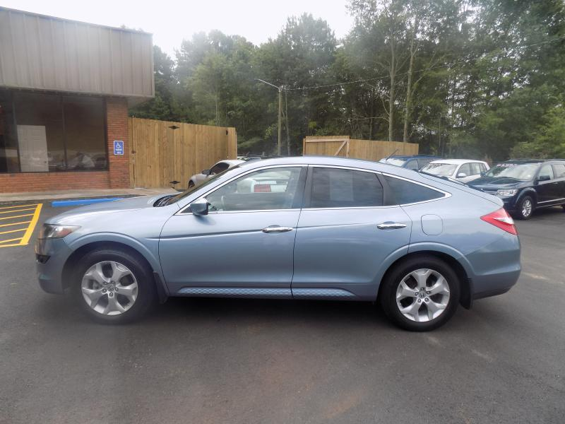 2010 HONDA ACCORD CROSSTOUR EXL blue air conditioning power windows power locks power steering