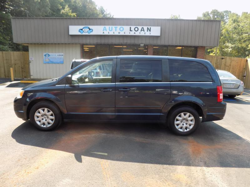 2009 CHRYSLER TOWN AND COUNTRY LX MINI VAN 4DR blue air conditioning power windows power locks