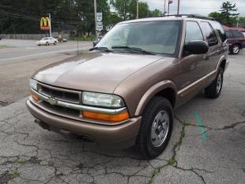 2002 Chevrolet Blazer for sale in Columbiana OH