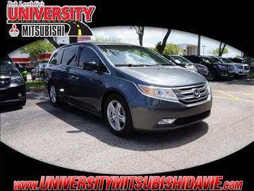 2012 Honda Odyssey for sale in Davie, FL